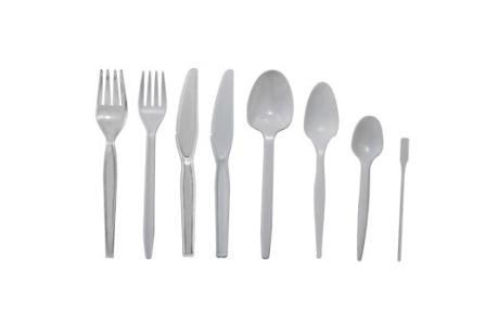 Пластмасови прибори вилици, лъжици, ножове