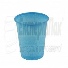 Синя пластмасова чаша 180мл.