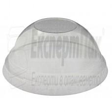 Капак без дупка обемен за чаши 250мл 350мл 400мл 500мл  ф95 (50бр.)