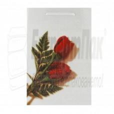 "Подаръчна торба ""Бяла роза""  24/37"
