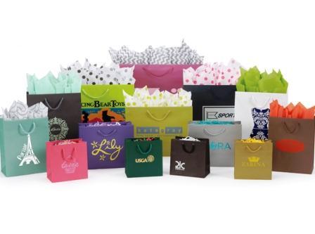 Хартиени торбички с шнур