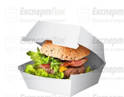 Картонена кутия за бургер
