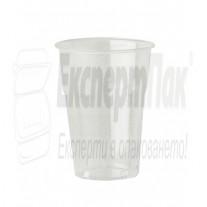 Пластмасови чаши за фрапе, фреш или бира Лукс ПП 350мл  (50бр.)