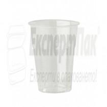 Пластмасова чаша за фреш, сок или бира 350мл