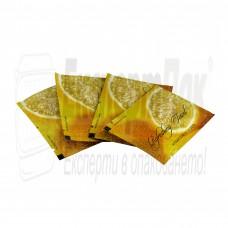 Мокри кърпи за ресторант - портокал