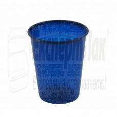 Тъмно синя пластмасова чаша 180/200мл. (50бр.)