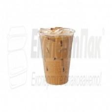 Пластмасова чаша 300мл за фреш, фрапе, бира, сок