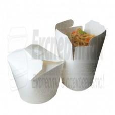Чайна бокс. Паста картонена кутия бокс за китайска храна