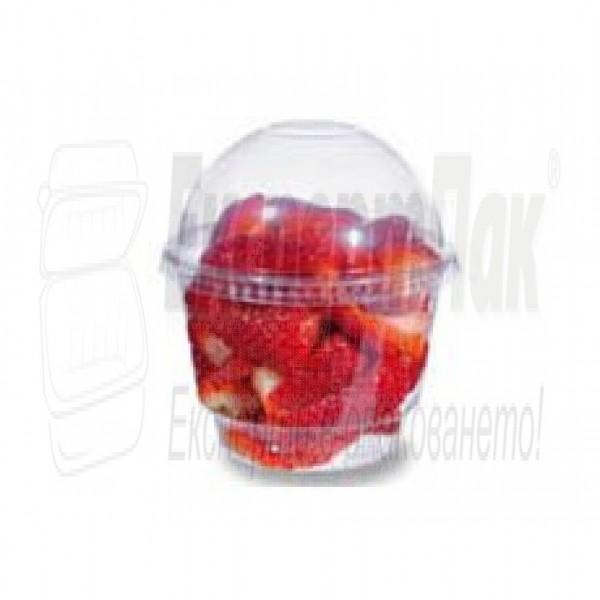 Пластмасова чаша 250мл за фреш или десерт
