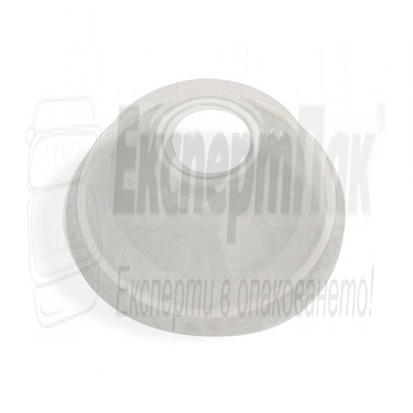 Обемен капак с дупка за чаши 350мл 400мл 500мл (Пакет 100 бр.)